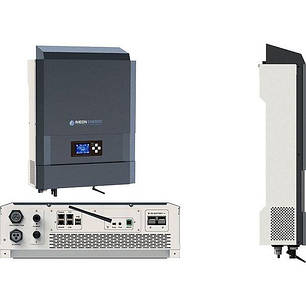 Гибридный инвертор Imeon Energy IMEON 3.6 (3 кВт 1 фазный 3 МРРТ), фото 2