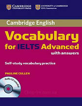 Cambridge Vocabulary for IELTS Advanced with Answers + Audio CD / Книга
