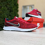 Чоловічі кросівки Nike ZOOM Air (червоні) 10083, фото 7