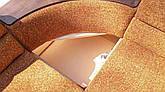 Угловой Диван Микс (Томас браун) диван с нишей для белья, фото 2