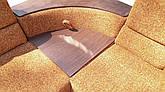 Угловой Диван Микс (Томас браун) диван с нишей для белья, фото 3