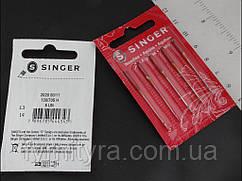 Иглы для бытовых швейных машин Singer №80/11 универсальные