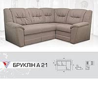 Угловой раскладной диван Бруклин А 2-1
