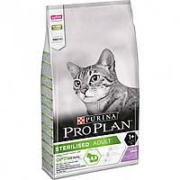 Сухой корм Про План Purina Pro Plan Cat Adult Sterilised Turkey для стерилизованных кошек с индейкой 10 КГ
