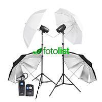 Набор студийного света Godox FST PHOTO EG-180KA IP33 KIT-2, 2х180 Дж + радиосинхронизатор RT-16