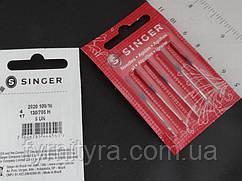 Голки для побутових швейних машин Singer №100/16 універсальні