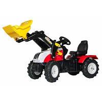 Веломобиль Rolly Toys rollyFarmtrac Steyr 6240 CVT красно-желтый (046331)