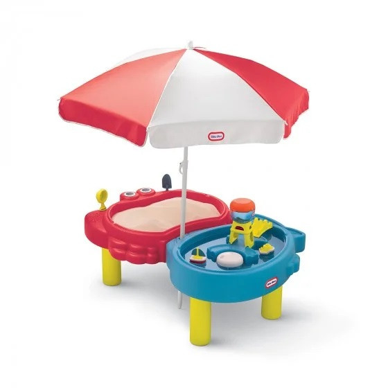 "Песочница-стол ""Тихая гавань""  (Sand and Sea Play Table) Little tikes, 2+ (401L00070) - Бесплатная доставка НП"