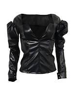 Куртка жіноча шкіряна, фото 1