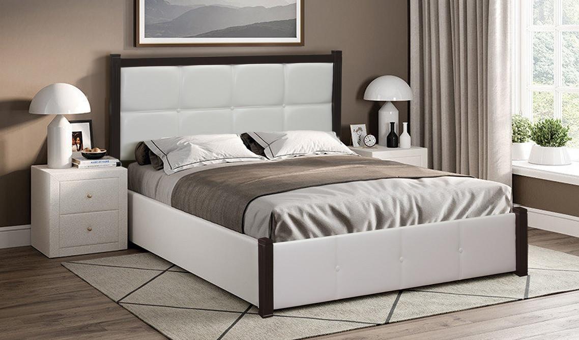 Мягкая кровать К-28 MegaMebli 160х200