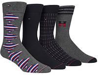 Набор  мужских носков  Томми  Хилфигер  Tommy Hilfiger Socks 4-Pack Men  Размер 39-44 Оригинал