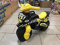 Мотоцикл толокар беговел Долони. Черный