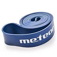 Тренажер-эспандер ленточный Meteor Rubber Band, heavy, нагрузка 32-37 кг, синий, фото 1