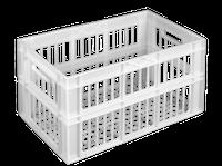 Ящик пластиковый 660х360х366  цветной