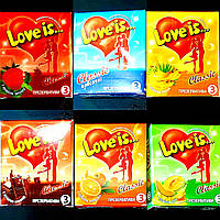 Презервативы ЭКСКЮЗИВ Love is(Лав из)18 шт.Великобритания.+ПОДАРОК., фото 1