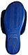 Тапочки женские Белста синие с жемчужиной 37 размер, фото 3