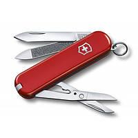 Складной нож Victorinox Викторинокс Executive 65 мм 7 предметов красный