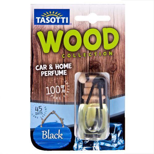 """Аромат. пробковый на зеркало Tasotti/серия """"Wood"""" - 7ml / Black Ice ((60))"""