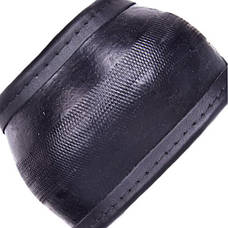 Чехол руля  16280B M черн (черная нитка) (BB 0280B M), фото 2