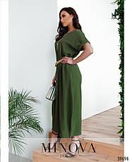 Платье женское летнее длинное размеры: 50-60, фото 3