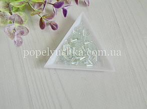 Бісер китайський рубка склярус 7 мм білий перламутр