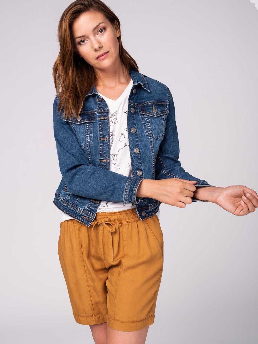 Женская куртка джинсовка Volcano J‑Luna 2
