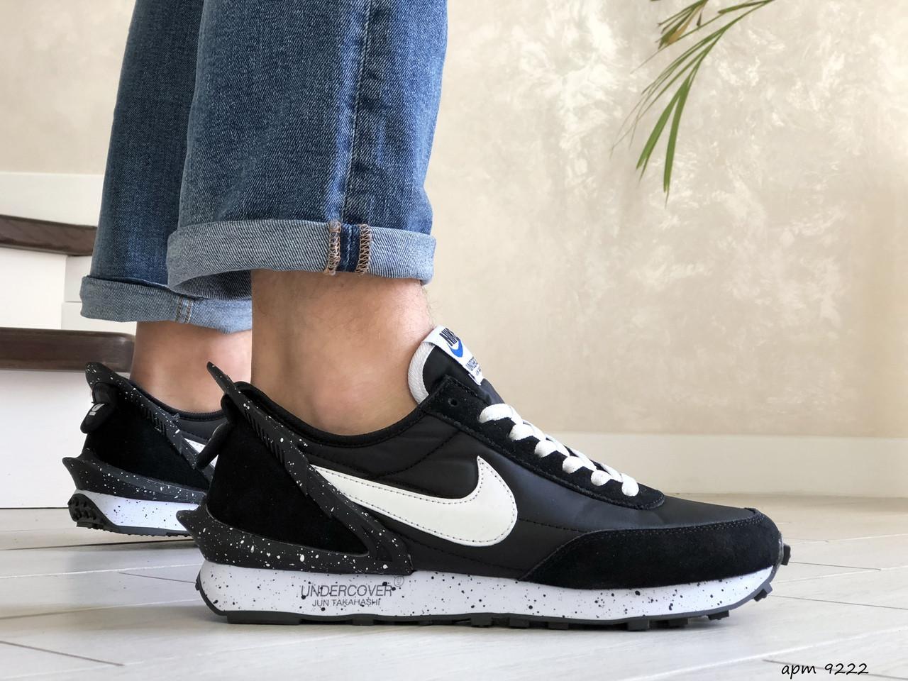Мужские кроссовки Nike Undercover Jun Takahashi, черно белые