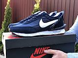Мужские кроссовки Nike Undercover Jun Takahashi,темно синие с белым, фото 3