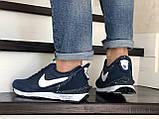 Мужские кроссовки Nike Undercover Jun Takahashi,темно синие с белым, фото 4