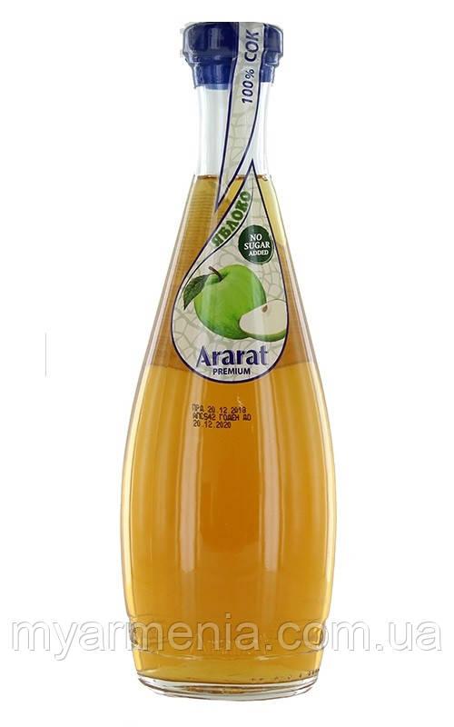 """Армянский Сок  Яблочный """"Ararat Premium"""" 0.75л"""