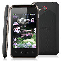 Smart Phone Android 4.0 MTK6515 1.0GHz WiFi 3.5 Inch Multi-touch Screen- Black, фото 1