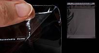 Пакеты с липкой лентой и клапаном прозрачные 45*49см+4см\25мкм, 1000шт\пач