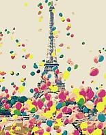 Картина по номерам Яркий Париж 35*45   арт.1385