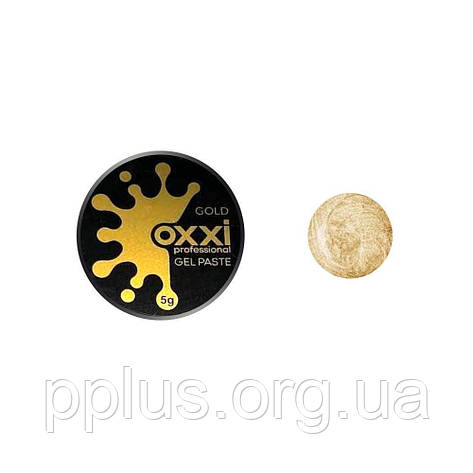 Гель-паста золото OXXI, фото 2