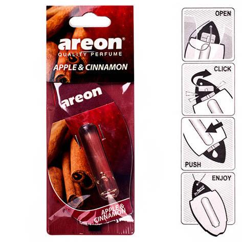 "Осв.воздуха жидкий листик AREON ""LIQUID"" Apple & Cinnamon 5ml (24) (LR 07), фото 2"