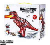 Интерактивные динозавр 60123 свет, звук, пар. Опт