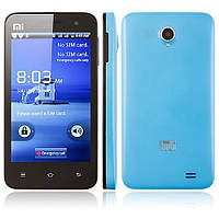 Smart Phone Android 4.0 OS SC8810 1.0GHz 4.3 Inch 2.0MP Camera- Blue, фото 1