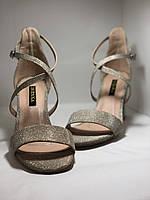 Высокое качество! Женские босоножки на среднем каблуке,с ремешком на щиколотке.35, 36,38,40.Vellena, фото 5