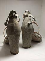 Высокое качество! Женские босоножки на среднем каблуке,с ремешком на щиколотке.35, 36,38,40.Vellena, фото 7