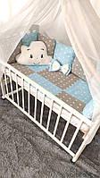 Детский постельный комплект в кроватку Облако NEW