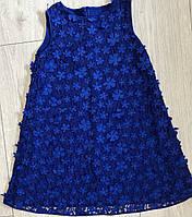 Сукня для дівчинки, трапеція, 3D квітка