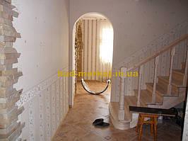 Монтаж дверей и арок из массива в частном доме + доп работы 6