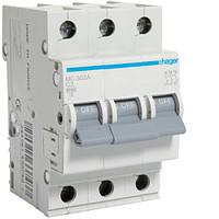Автоматический выключатель In=3А, 3п, С, 6кА Hager, фото 1