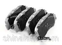 Гальмівні колодки HONDA CIVIC (ASHIKA) 50-04-432 OE GBP90329AF