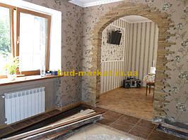 Монтаж дверей и арок из массива в частном доме + доп работы 14