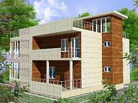 Каркасный дом - американский проект Европа 250 кв.м.