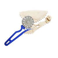 Нож фигурный для вырезания чебуреков и пиццы, фото 1