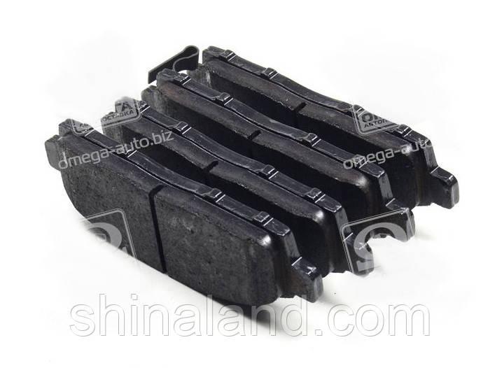 Тормозные колодки дисковые MITSUBISHI L200 передние (TRW) OE 4605A623