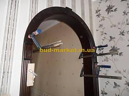 Монтаж дверей и арок из массива в частном доме + доп работы 30