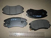 Тормозные колодки HYUNDAI SONATA, HONDA CIVIC передние (CTR) CKKH-9 OE 1FE0058101